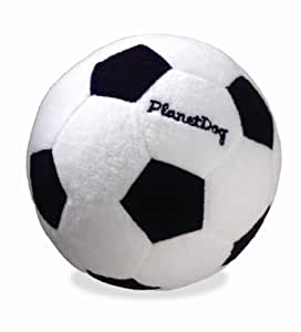 Planet Dog Squeaky Plush, Soccer Ball