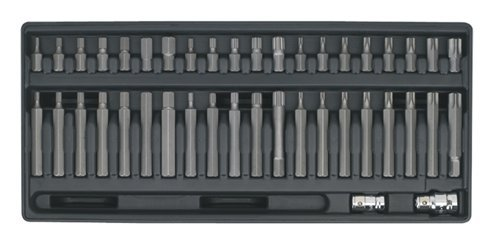 Sealey TBT10 Tool Tray with 42-Piece TRX-Star/ Spline/ Hex Bit Set SEATBT10