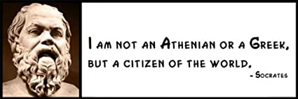 Amazoncom Wall Quote Socrates I Am Not An Athenian Or A Greek