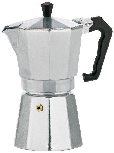 kela Espresso Pot Italia 6 Tazas, Aluminum, Aluminio