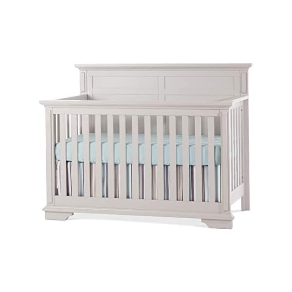 Child Craft Tanner 4-in-1 Convertible Crib – Light Gray Light Gray
