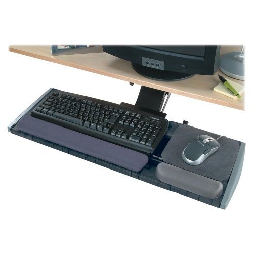 Wholesale CASE of 3 - Kensington Modular Platform w/ Smartfit System-Keyboard Platform,Height/Tilt Adjust,21-1/4