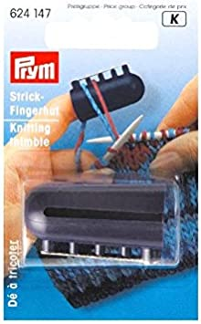 H/äkelring Libelle 1 St/ück Strickwerkzeug Strickring Garnf/ührung Fingerhut KUNHEV Fingerbekleidungsring