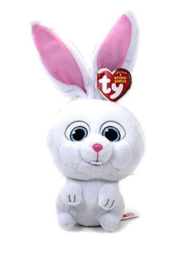 Ty The Secret Life of Pets SNOWBALL Stuffed Animal Plush Beanie Babies Doll PRS