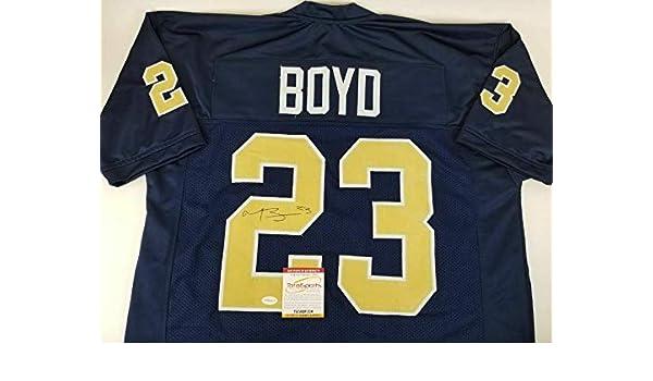 the latest 88f29 51e43 Tyler Boyd Signed Jersey - Pitt TSE COA - Autographed ...