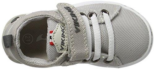 Viking Frogner Kids, Zapatillas de Deporte Exterior Unisex Niños Grau (Light Grey/Grey)