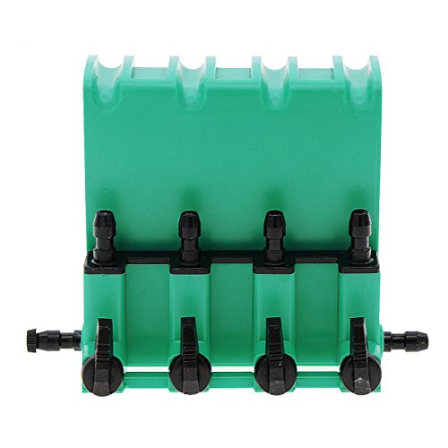 Saim Plastic 4-Way Air Control Gang Valve Aquarium Pump Accessories