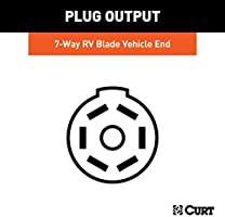 CURT 56226 Vehicle-Side Custom RV Blade 7-Pin Trailer Wiring Harness on 7 pin trailer light connector, seven prong trailer harness, 7 pin cover, ford truck trailer harness, 7 pin wiring connector, 7 pin wiring guide, 7 pin voltage regulator, 7 pin electrical, 7 pin cable, 7 pin tow wiring, 7 pin trailer wiring, 7 pin power supply, 7 pin battery, 7 pin ignition switch, 7 pin gasket, 7 pin coil,