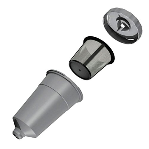 Homyl Stainless Steel Refillable Capsules Filter Cup for Keurig coffee machines