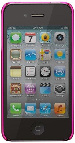 Case-Mate BT-COV-CM015558 BarelyThere Case für Apple iPhone 4/4S rubber/pink