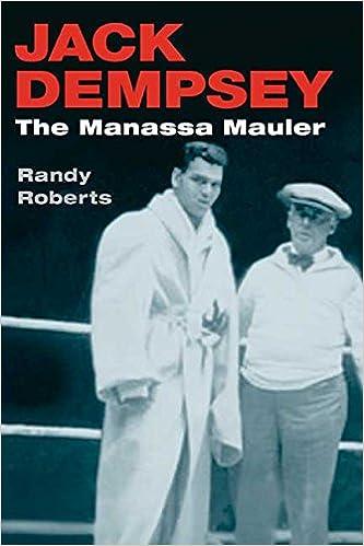 Amazon com: Jack Dempsey, the Manassa Mauler (9780252071485