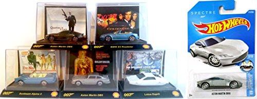 Spectre James Bond Exclusive Hot Wheels Set Aston Martin DB10 2016 Daniel (Mach 5 Replica Car)