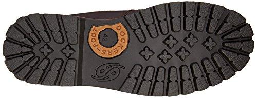 Dockers 35CA001 - botas desert de cuero hombre marrón - Braun (schoko 360)