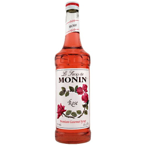 Monin Rose Syrup, 750 ml