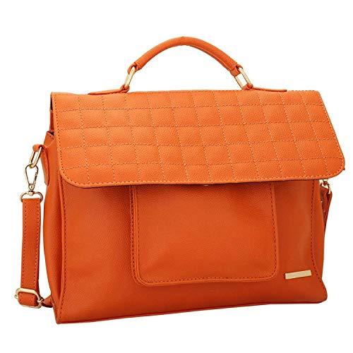 da Arancione O donna Lupo Melon Design multifunzionale tascabile Bag Lapis Sling S6X7x7w