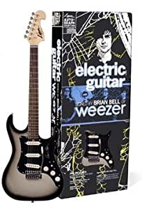 rare brian bell of weezer limited edition authentic autographed lyon washburn. Black Bedroom Furniture Sets. Home Design Ideas