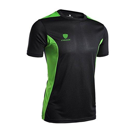 Pour Noir Séchage De Athlétique Bluestercool shirt Hommes Courtes Tee Rapide Tops T Fitness Running À Manches 8aZEqwxOE