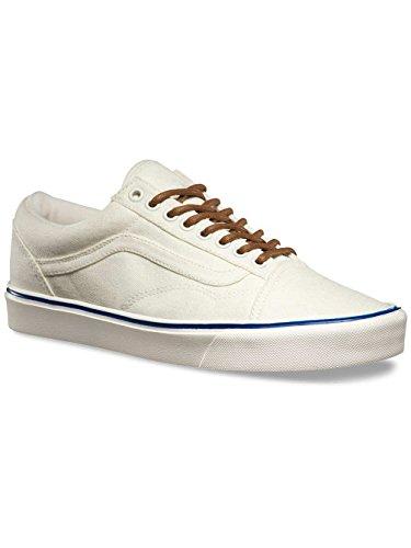 Price comparison product image VANS Old Skool Lite+ Classic Sneaker Skate shoes ultra light,  shoe size:EUR 38;color:white / blue
