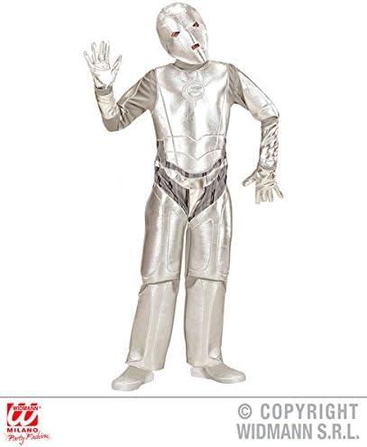 Partypackage Disfraz de Robot invasor Espacial para niños de 8 a ...