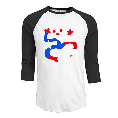 Taino Coqui Frog Puerto Rican Symbol Man 3/4 Sleeve Baseball T Shirts