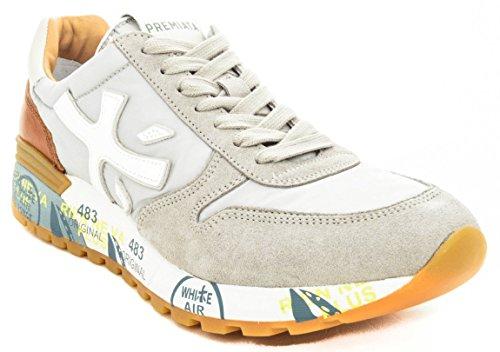 PREMIATA Mick 3137 Sneaker Uomo Grigio Chiaro Grigio