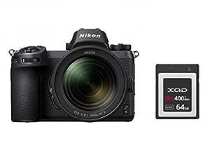 Nikon Z6 system digitalkamera kit + NIKKOR Z 24–70 mm 1:4 S + 64 GB XQD