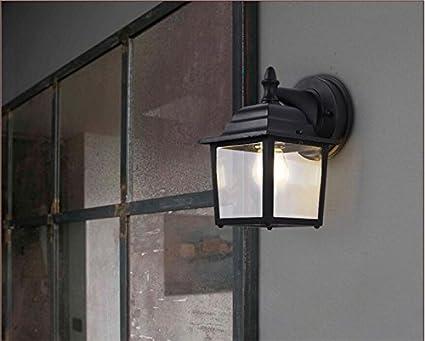 Sisanlai lampe de mur haut bas appliques murales extérieures balcon
