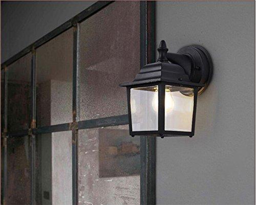 Ggrxa vintage industrial style lampada da parete applique da