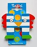 """""""crazy bird"""" Holzbuchstabe """"H"""" ca. 7 cm (farblich sortiert)"""