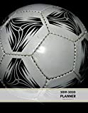 2019-2020 Planner Weekly and Monthly 8.5 x 11: Football Soccer Theme Calendar Schedule Organizer and Journal Notebook (January 2019 - December 2020) (Academic Year)
