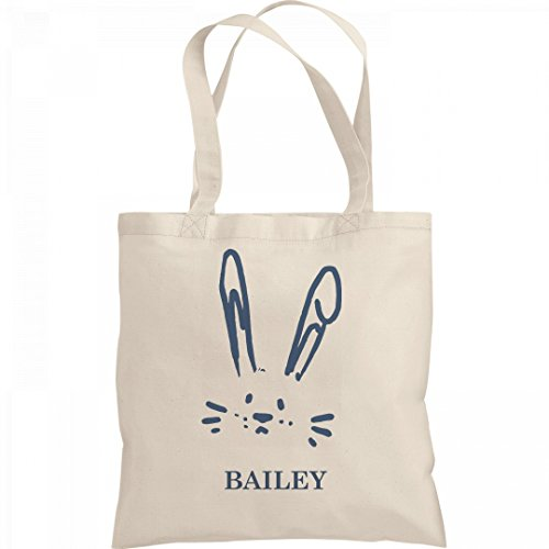 Bailey Boys Bunny (Boys Easter Egg Hunt Bag For Bailey: Liberty Bargain Tote Bag)