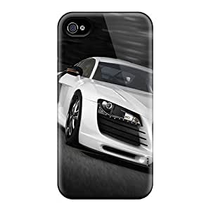 Fashionable FLACtWX6780XSEaM Iphone 4/4s Case Cover For Audi R8 Gt Protective Case