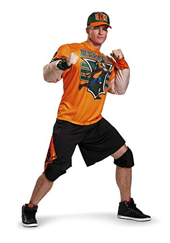(Disguise Men's WWE John Cena Muscle Costume, Orange,)