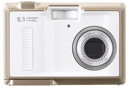 Uniden 5 1Mデジタルカメラ ホワイト UDC-5M (W)の商品画像