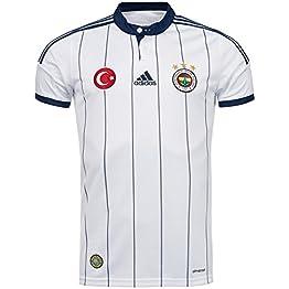 Adidas 2014-2015 Fenerbahce Away Football Soccer T-Shirt Maillot