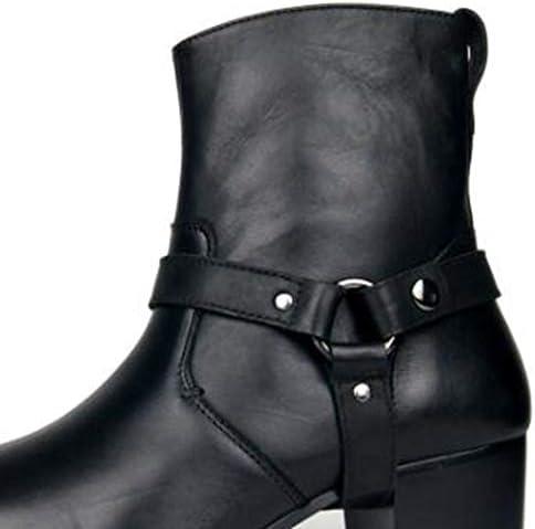 Stivali Chelsea per I Pattini di Vestito degli Uomini degli Uomini Tacchi Cerniera Stivali,40