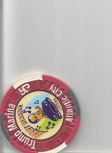 $5 trump marina jerry blavat yo philly block party 2005 casino chip token atlantic city new jersey super -