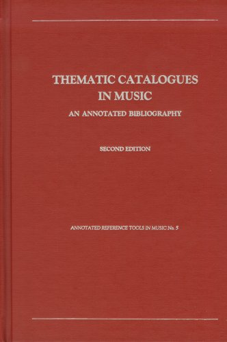 in Music: An Annotated Bibliography (Annotated Reference Tools in Music) (Annotated Reference Tools)