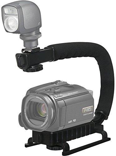 Vertical D200 Nikon Grip - Pro Video Stabilizing Handle Grip for: Nikon D200 Vertical Shoe Mount Stabilizer Handle