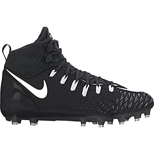 Nike Hommes Force Sauvage Pro Chaussures De Football Noir / Blanc / Anthracite