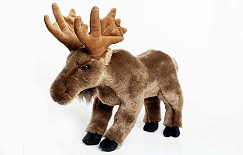 Moose Stuffed Plush Animal - Cabin Critters North American Wildlife Collection American Wildlife Collection