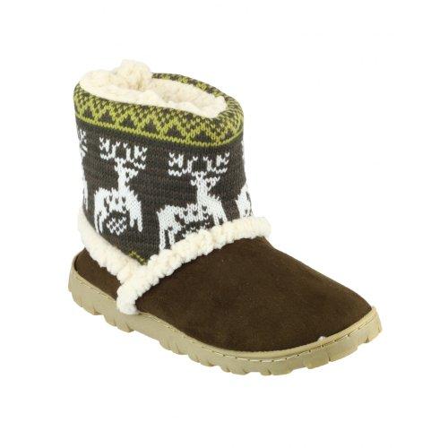 Pantofole Da Donna / Pantofola Da Donna Denmark Divas Brown