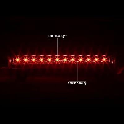 DNA MOTORING 3BL-GMCD00-LED-BK-SM Third Brake Light: Automotive
