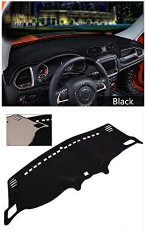 Hex Autoparts Dash Cover Mat Dashboard Pad Gray for Chevrolet Silverado 2015 2016