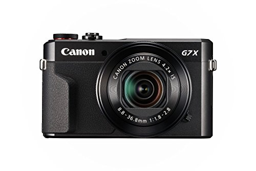 Canon PowerShot G7 X Mark II (Black) (International Model) No Warranty by Canon