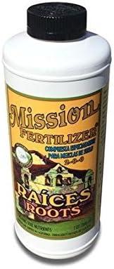 Mission Fertilizer Raices Roots 2-0-0 Organic Fertilizer Quart