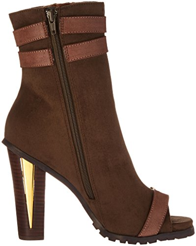 Luichiny Womens For Real Ankle Bootie Army/Brown