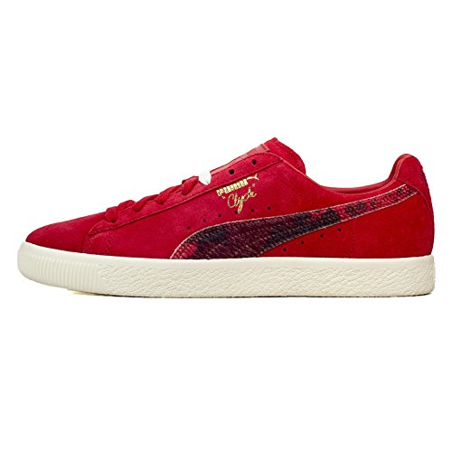 Sneakers Puma Packer Cow Red Rosso / Bianco