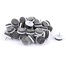uxcell® Table Chair Leg Glides Furniture Nail Protector Feet Pads 50pcs