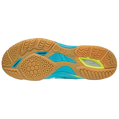 safety Wave Yellow Atol Men Blue 5 Medal white Mizuno xZqwd0R8R